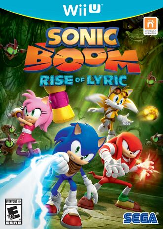 Sonic Boom Rise Of Lyric Crappy Games Wiki Uncensored