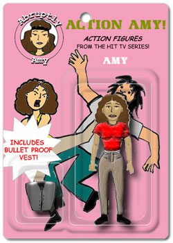Abruptly Amy action figure