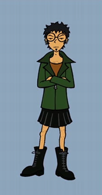 Trent as Daria.png