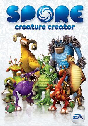 Arte de capa de Spore Criador de Criaturas.jpg