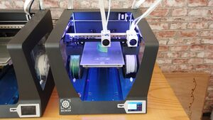 BCN3D printer in actie