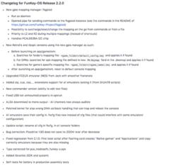 FunKey-OS 2.2.0 changelog.