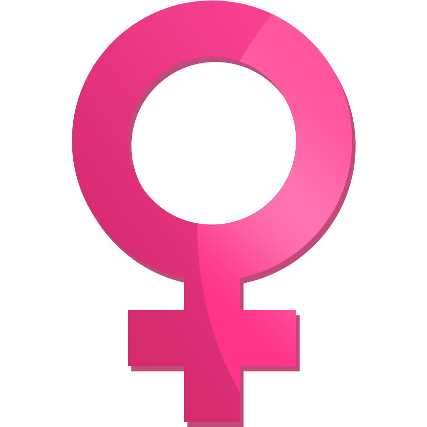 Female icon women sex sign royalty free vector image