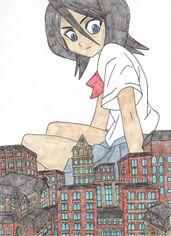 Rukia the giantess by masterofra.jpg