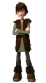 Hiccup - An intelligent dragon trainer that is so smart he can defeat every dragon.