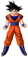 Son Goku - An anime character who's a saiyan from outer space with awesome transformations that is willing to fight the world for peace.