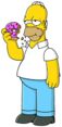Homer Simpson - An icon of adult cartoons