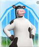 Otis the Cow - A talking cow who had a bad beginning, but showed major redemption.
