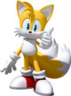 """Miles """"Tails"""" Prower - Sonic's sidekick who appears to be very smart and a great inventor despite being only 8 years old."""