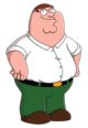 Peter Griffin - A fatman who has made tons of unforgettable quotes and tons of memes.