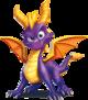 Spyro the Dragon - The dragon protagonist of the Spyro franchise.