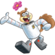 Sandy Cheeks - A kind and helpful squirrel who's great at karate and singing.
