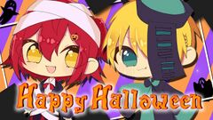 Thumbnail - 【Cover】Happy Halloween【花咲みやび×岸堂天真】.jpg