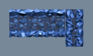 Tileset with randomized tiles
