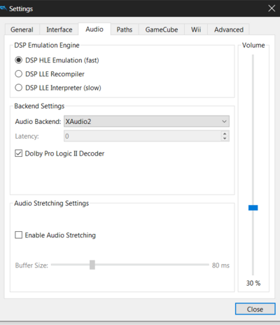 Dolphin Settings Audio.png