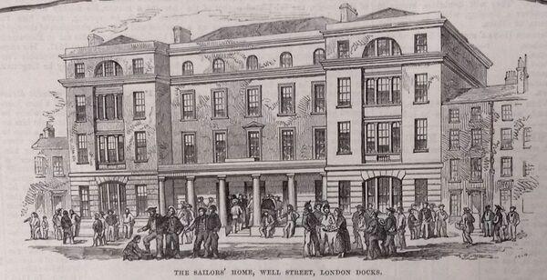 Sailors' Home, London, opened 1835