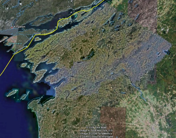 Jefferson County Satellite Photo, courtesy of Google