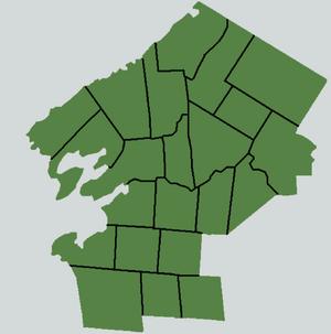 Township Division Map