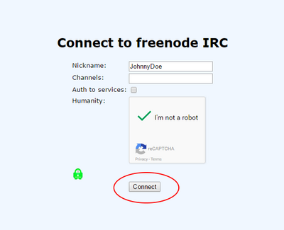 Freenode IRC webchat connect.png