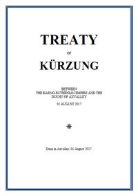 Treaty of Kürzung frontpage.