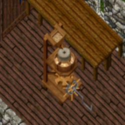 obrázek mlýna na mouku ze hry plného zrn
