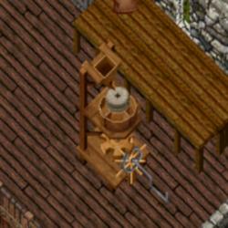 obrázek mlýna na mouku ze hry co ale nelze použít k mletí mouky rozíl je že je prázdný