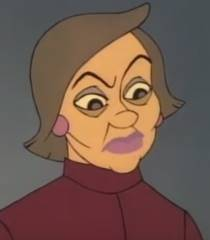 The Christmas Tree 1991.Mrs Mavilda Loathsome Characters Wiki