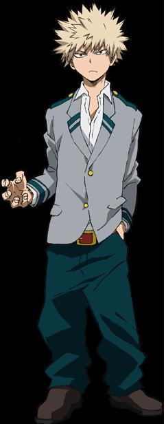 Katsuki Bakugo School Uniform Full Body.png