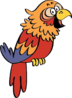 Sergio - A pet bird that's nothing more than an unsympathetic troublemaker.