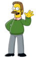 Ned Flanders (The Simpsons) - A Simpsons character that started out as just a guy who loved going to church but soon became obsessively religious to the point where he has a trope named after him.