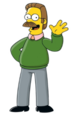 Ned Flanders - A Simpsons character that started out as just a guy who loved going to church but soon became obsessively religious to the point where he has a trope named after him.