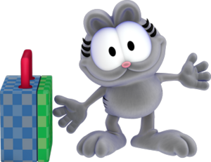 Nermal The Garfield Show Loathsome Characters Wiki