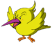 Tokkori - A selfish, annoying, stupid bird that uses Kirby only to protect himself.