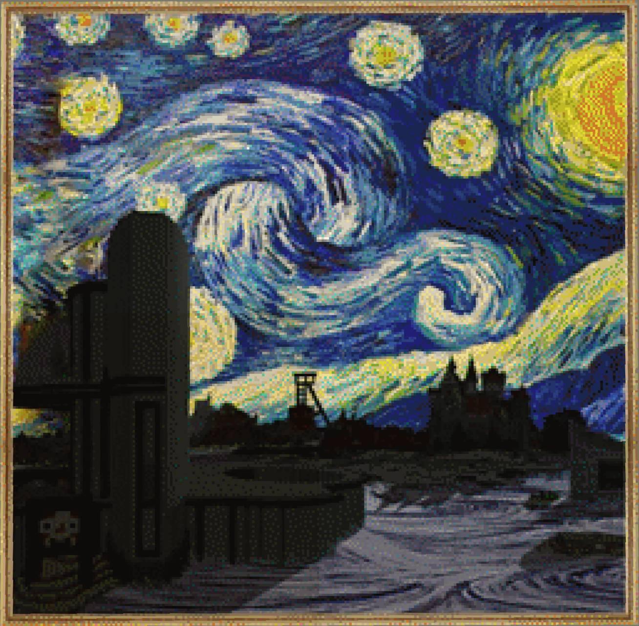 Obraz Etavenská noc