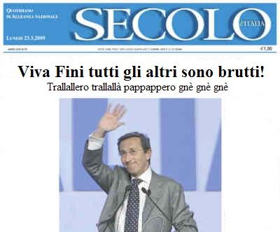 Prima pagina Secolo d'Italia con Fini.jpg