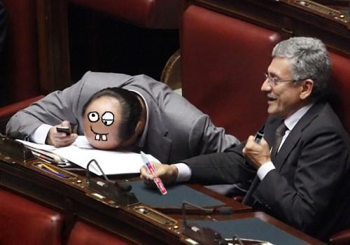 D'Alema fa uno scherzetto a Bersani.jpg