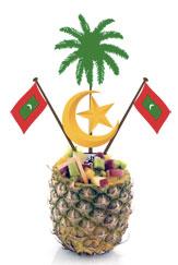 Stemma delle Maldive con ananas.jpg