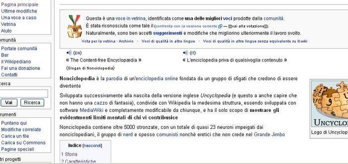 Pagina non neutrale di Nonciclopedia su Wikipedia.JPG
