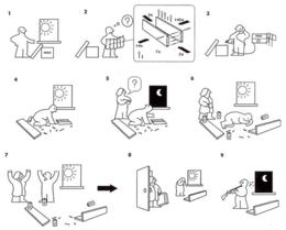 Montare Mensole Ikea.Nonbooks Montare Una Mensola Sul Soffitto Nonciclopedia