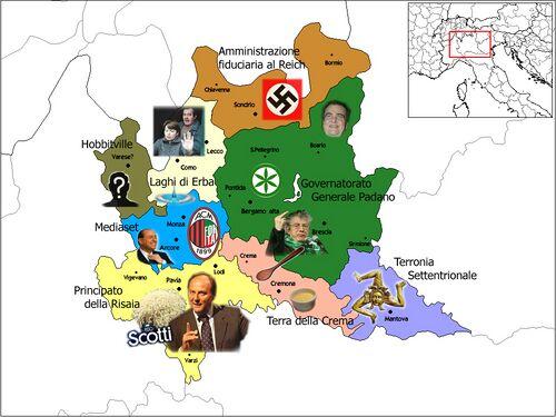 Geografia dela Lombardia.