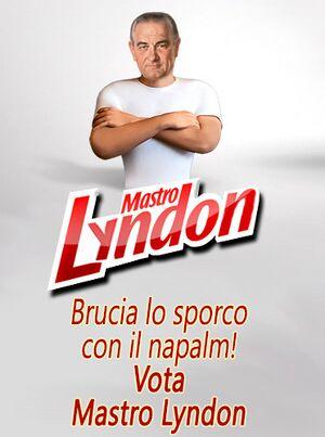 Slogan di Lyndon.