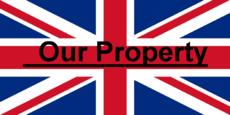 """Bandiera Regno Unito con sopra scritto """"Our Property"""".png"""