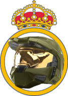 Logo Real Madrid con casco Halo.png
