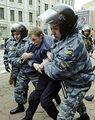 Polizia arresta manifestante.jpg