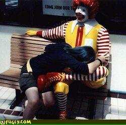 Pompino in McDonalds