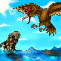 Relicanth contro Fearow.jpg