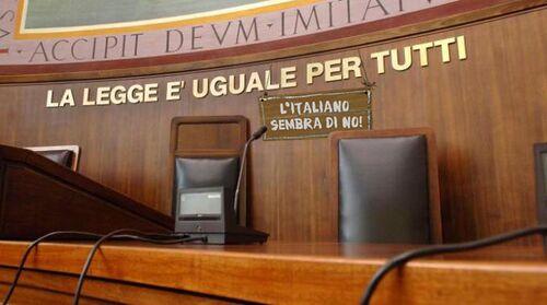 La legge è uguale per tutti - L'italiano sembra di no.jpg