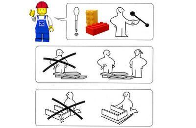 Manuale di istruzioni LEGO