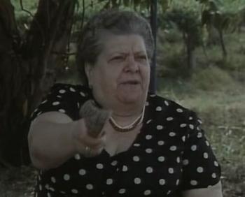 La Sora Lella, capostipite di tutte le burine cinematografiche.