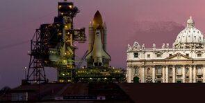 Rampa di lancio dello shuttle in Vaticano.JPG